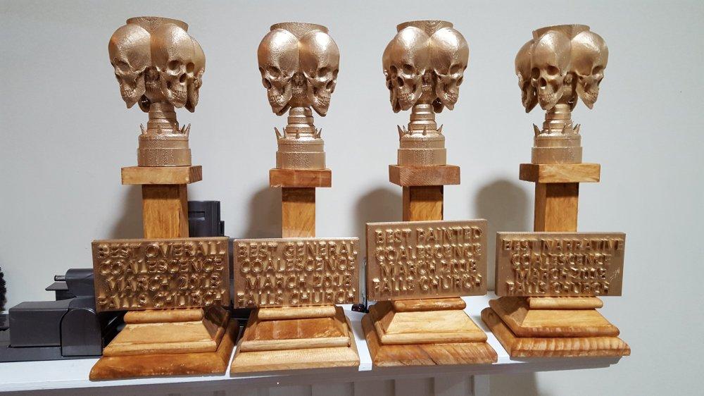 CGNE trophies
